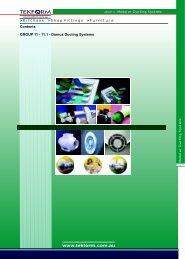 Domus Ducting Systems - Tekform