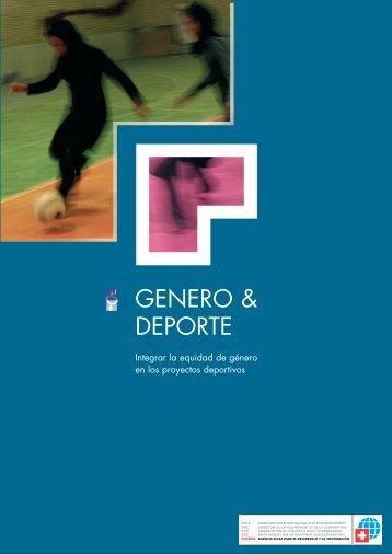 GENERO Y DEPORTE ESP 2005