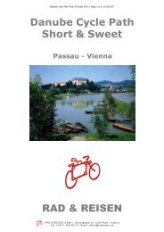 DCP Short & Sweet 2012 - Bike Tours To Go