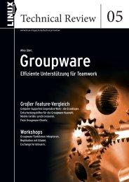 Download: Leseprobe_LTR_5_07.pdf - Linux-Magazin