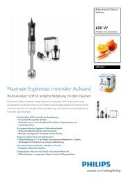 Maximale Ergebnisse, minimaler Aufwand - Philips
