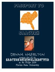 Jenna Hazelton - saacurh - National Association of College and ...