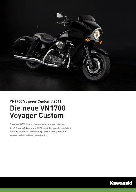 VN1700 Voyager Custom - 2-Rad Wehrli