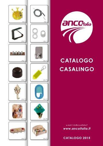 ANCO Italia S.r.l. - Catalogo Casalingo