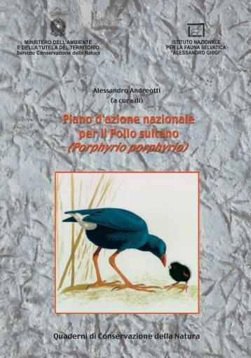 Piano di azione nazionale per il Pollo sultano - Lipu