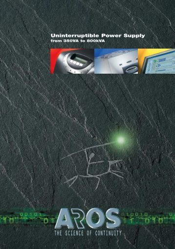 Aros 2008 general catalogue