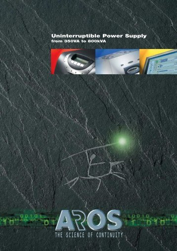 Aros 2008 general catalogue