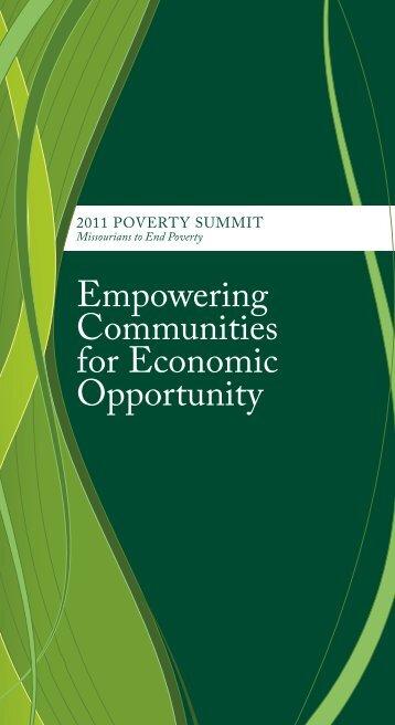 2011 Poverty Summit Report - Missouri Association for Community ...