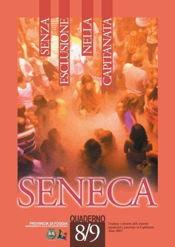Quaderno Seneca 8/9 anno 2005 - Osservatorio Foggia