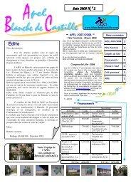 L'ABC de juin 2008 - Blanche de Castille