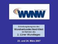 PDF-Dokument - Wundverbund Nordwest eV