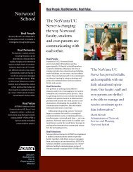 Norwood School Unified Communications Case Study - eSchool News