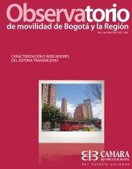 de movilidad de Bogotá y la Región - Instituto de Estudios Urbanos