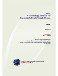 RFID: A Technology Analysis for Implementation in Supply Chains