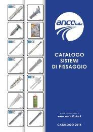 ANCO Italia S.r.l. - Catalogo Sistemi di Fissaggio