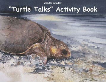 """Turtle Talks"" Activity Book - WIDECAST"