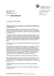 Rohde Nielsen A/S Nyhavn 20 DK-1051 ... - Naturstyrelsen
