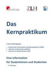 Eine Information für Studentinnen und Studenten - ZLH-Hamburg