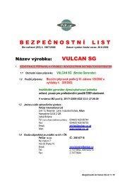 Vulcan SG - Desinsekta sro
