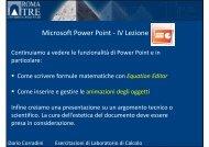 (Microsoft PowerPoint - Esercitazione_PowerPoint_4 [modalit\340 ...