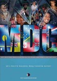 Millennium Development Goals - Pacific Islands Forum Secretariat