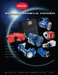 Global Mobile Power Brochure - Drive Products