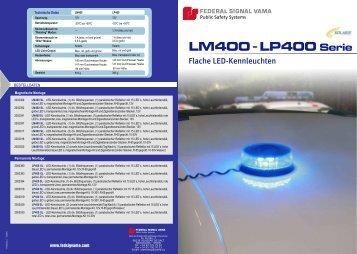 LM400 LP400 Serie - Rauwers GmbH