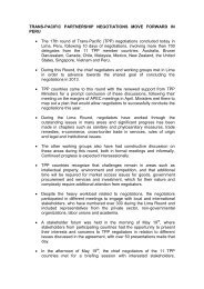 releases issued by Peru - New Zealand Ministry of Foreign Affairs ...