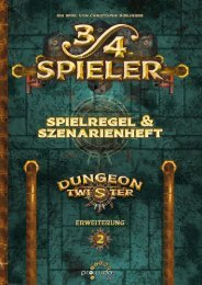 3/4 Spieler - Dungeon Twister