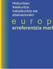 Europako Erreferentzia Markoa - HABE