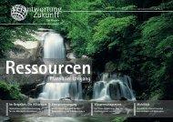Das Magazin. - Verantwortung Zukunft