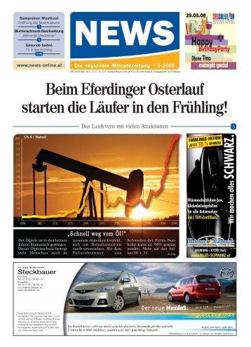 Beim Eferdinger Osterlauf starten die Läufer in den - NEWS-ONLINE.at