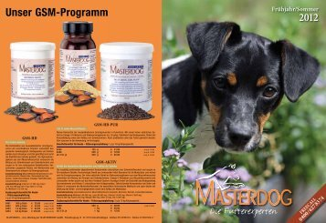 Masterdog Hauptkatalog 2012