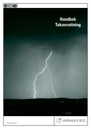 Handbok Takavvattning. 2009 - Armatec