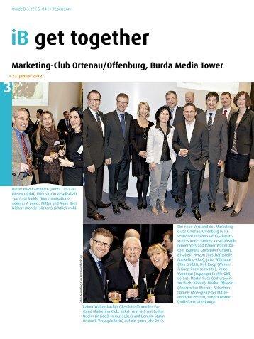 Mitgliederversammlung - Marketing-Club Ortenau/Offenburg