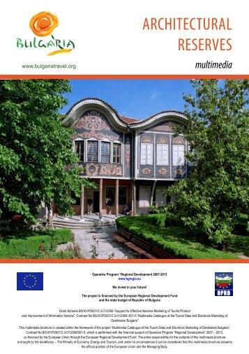 ARCHITECTURAL RESERVES - Bulgaria Travel