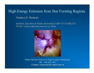 High-Energy Emission from Star Forming Regions - DIAS