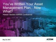 You've Written Your Asset Management Plan