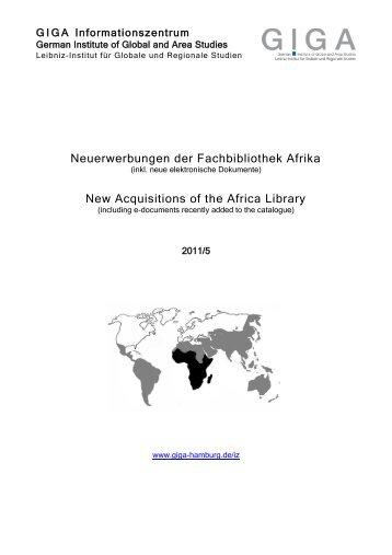 E-Mail Dokumentvorlage - GIGA German Institute of Global and Area ...