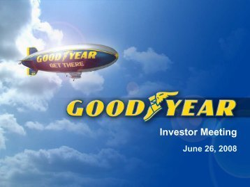 Marketing - Goodyear
