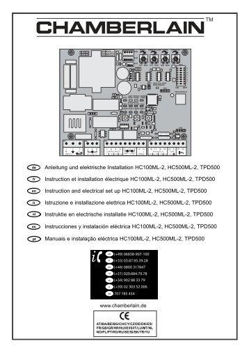 CB22Cover unisex.qxp - Chamberlain