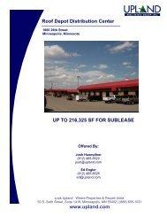 Roof Depot Distribution Center - Upland Real Estate Group