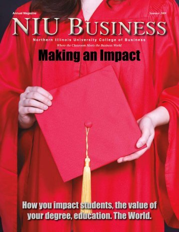 Summer 2009 Issue - NIU College of Business - Northern Illinois ...