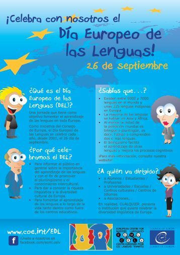 Día Europeo de las Lenguas! - European Day of Languages ...