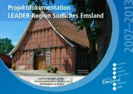 Projektdokumentation Leader-Region Südliches Emsland 2007–2013