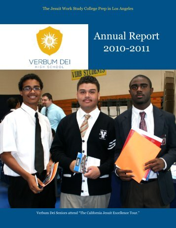 Annual Report 2010-2011 - Verbum Dei High School