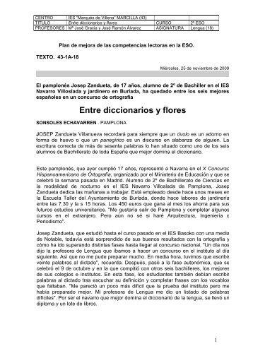 E/Entre diccionarios y flores.pdf - Navarra