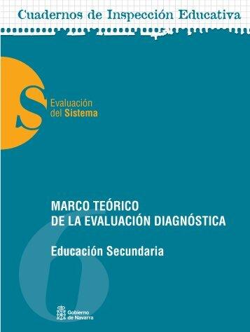 MARCO TEÓRICO DE LA EVALUACIÓN DIAGNÓSTICA ... - Navarra