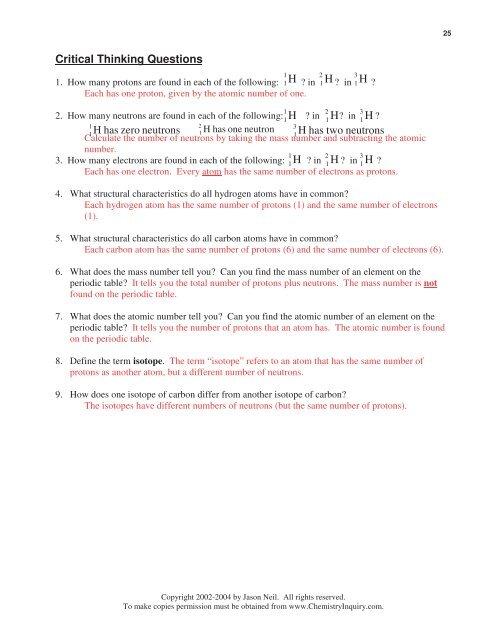 24 ChemQuest 8 Name