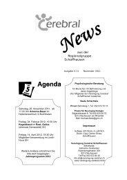 Aktivitäten im Lindli-Huus - Vereinigung Cerebral